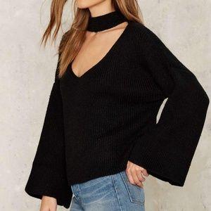 Nasty Gal / English Factory Choker Sweater